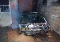 Após discussão, automóvel é incendiado em Guarda dos Ferreiros