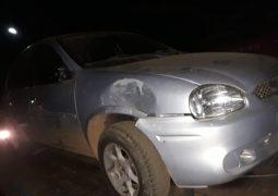 Através de denúncia anônima, Polícia localiza veículo que provocou acidente em São Gotardo