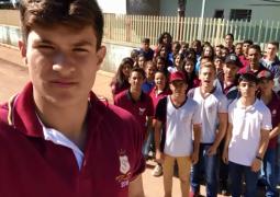 """Alunos de Guarda dos Ferreiros gravam vídeo em apoio à professores em greve. Vídeo pode ser passado em campanha """"O Brasil que eu quero"""""""