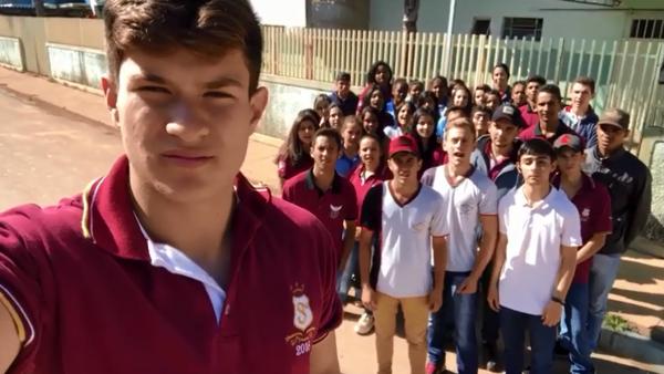 Foto Capa: Eulália Kithe/Escola Estadual Coronel Hermenegildo Ladeira/Reprodução Vídeo