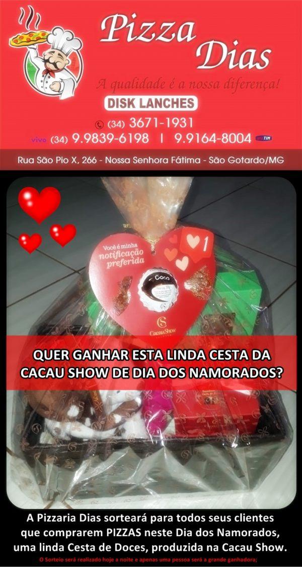 Foto Capa: Reprodução/Pizzaria Dias