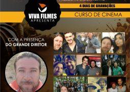 Curso de cinema com Bellamir Freire será realizado em novembro na cidade de Presidente Olegário