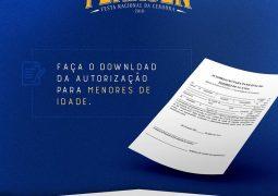 Sindicato dos Produtores Rurais fornecerá comissário para autenticar autorizações de menores de idade na Fenacen 2018 nesta segunda-feira