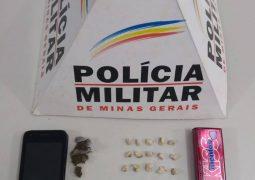 Durante operação antidrogas, Polícia Militar prende dois homens em São Gotardo