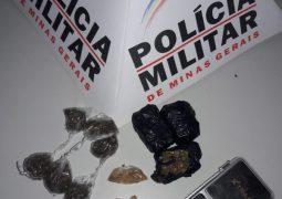 Através de denúncia anônima, PM realiza mais uma considerável apreensão de drogas em São Gotardo