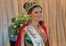 Em noite iluminada, Camila Lopes Franco é eleita a nova Rainha da Fenacen 2018