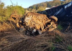Cinco pessoas de Uberlândia e uma de São Gotardo morrem em grave acidente na BR-365