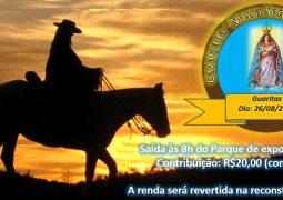 """Por reconstrução da Igreja, Cavalgada """"Nossa Senhora da Abadia"""" acontece neste domingo em São Gotardo"""
