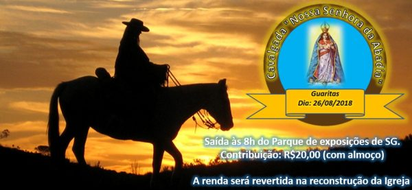 "Foto Capa: Thayná Marques/Cavalgada ""Nossa Senhora da Abadia"""