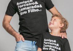 Tal pai, tal filho! Loja Âncora Clothing lança coleção especial de Dia dos Pais em São Gotardo