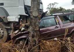 Grave acidente na BR-354 faz duas vítimas fatais na manhã desta segunda-feira