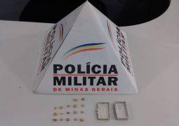 Combate ao crime. Homem é preso pela PM após ser flagrado com drogas em São Gotardo