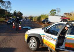 Grave acidente na BR-354 próximo à cidade de Lagoa Formosa faz mais uma vítima fatal