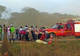 Asfalto danificado provoca gravíssimo acidente na BR-354 e faz três vítimas fatais