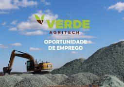 Verde AgriTech contrata funcionários para atuar em São Gotardo