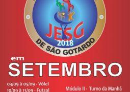 Valendo vaga para a etapa MICRO-REGIONAL do JEMG 2019, Jogos Escolares (JESG) começam em São Gotardo