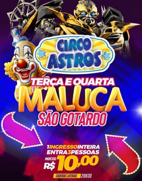 Foto Capa: Divulgação/Circo Astros
