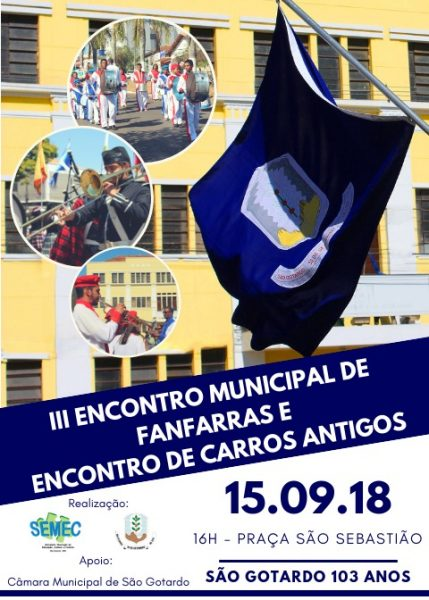 Foto Capa: SEMEC (Secretaria Municipal de Educação, Cultura e Turismo)