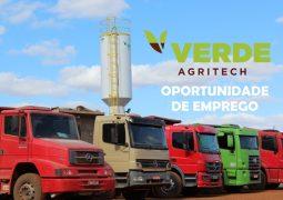 Verde AgriTech contrata serviço de transporte (caminhão)