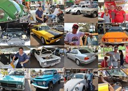 Fotos do III Encontro de Carros Antigos de São Gotardo