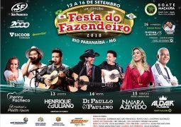 Faltando menos de 10 dias, Festa do Fazendeiro em Rio Paranaíba é aguardada em toda a região