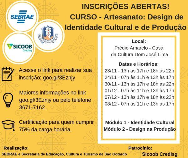 Foto Capa: Juliana Ladeira/Secretaria de Educação Cultura e Turismo de São Gotardo