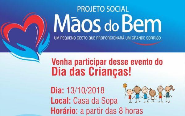 """Foto Capa: Projeto """"Mãos do Bem""""/Rooney Rodrigues"""