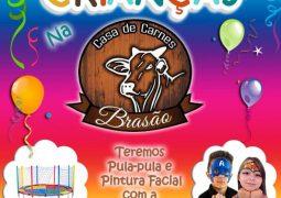 Em comemoração ao Dia das Crianças, Casa de Carnes Brasão prepara manhã especial neste sábado