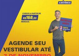 Uninter inicia último vestibular de 2018 para alunos de São Gotardo e Região