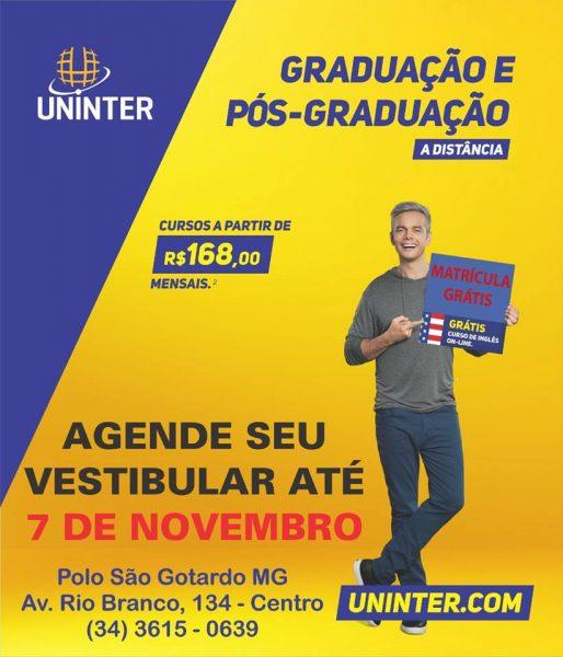 Foto Capa: Divulgação/Facebook/Uninter-SG