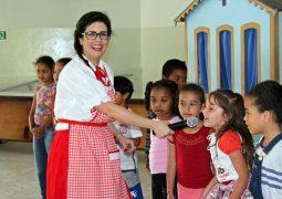 Alunos do curso de pedagogia do CESG realizam projeto social com escolas de São Gotardo