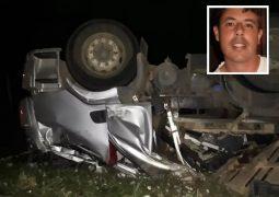Caminhoneiro de São Gotardo morre em grave acidente na MG-235