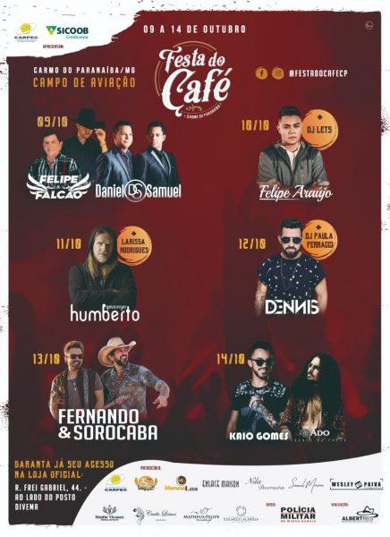 Foto Capa: Albert Reis - Promoções de Eventos/Festa do Café 2018