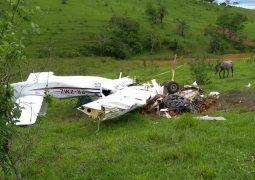 Aeronave cai e mata cinco pessoas da mesma família em Patos de Minas