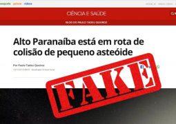 Fake News: Informação de que um asteroide irá cair na região do Alto Paranaíba agita a internet