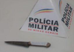 Briga entre casal termina com homem esfaqueada em São Gotardo