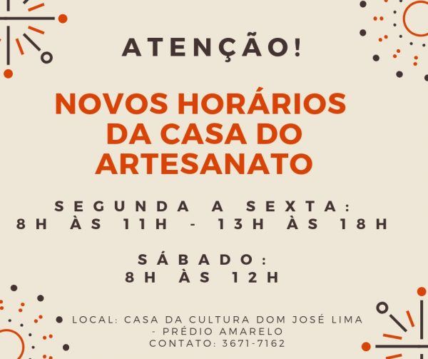 Foto Capa: Casa do Artesanato/Casa da Cultura Dom José Lima (Prédio Amarelo)