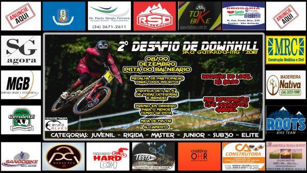 Foto Capa: Gabriel Teodoro/2º Desafio de Downhill 2018 de São Gotardo