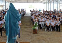Com a presença de centenas de cristãs e cristãos, Terço das Mulheres de São Gotardo celebram primeiro aniversário