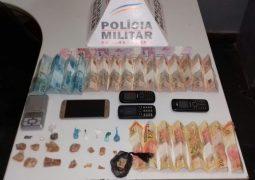Polícia Militar realiza novas prisões e apreensões significativas de drogas em São Gotardo