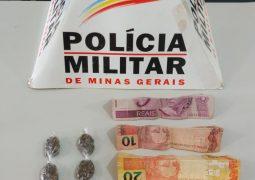 Adolescente de 12 anos de idade é preso com drogas em São Gotardo