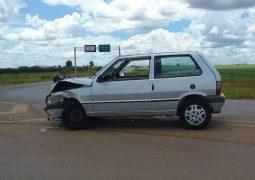 Condutor embriagado não obedece sinalização da BR-354, provoca acidente e acaba preso