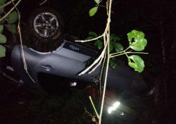 Família que seguia para Caldas Novas sofre acidente e motorista morre na BR-262 entre Campos Altos e Ibiá