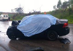 Matéria Atualizada: Grave acidente na BR-354 em São Gotardo faz três vítimas fatais da mesma família