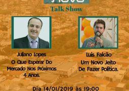 Partido de Romeu Zema, Novo realizará Talk Show em São Gotardo