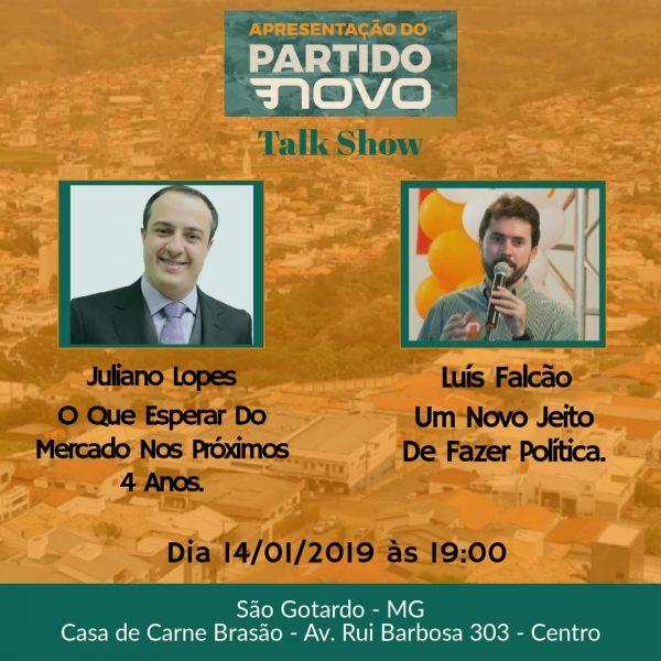 Foto Capa: Juliano Lopes/Partido Novo