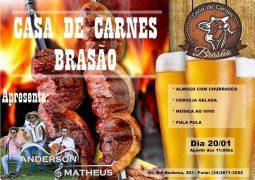 Casa de Carnes Brasão volta a servir almoço com churrasco e prepara várias programações especiais para este Domingo em São Gotardo