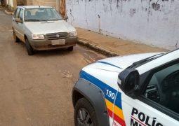 Carro furtado em São Gotardo é recuperado em Rio Paranaíba e autor acaba preso