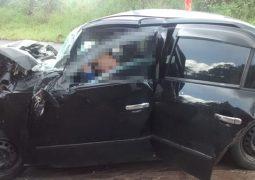 Grave acidente na BR-354 em São Gotardo faz três vítimas fatais da mesma família