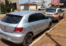 PM de Rio Paranaíba recupera carro roubado em Uberlândia e prende dois foragidos da prisão